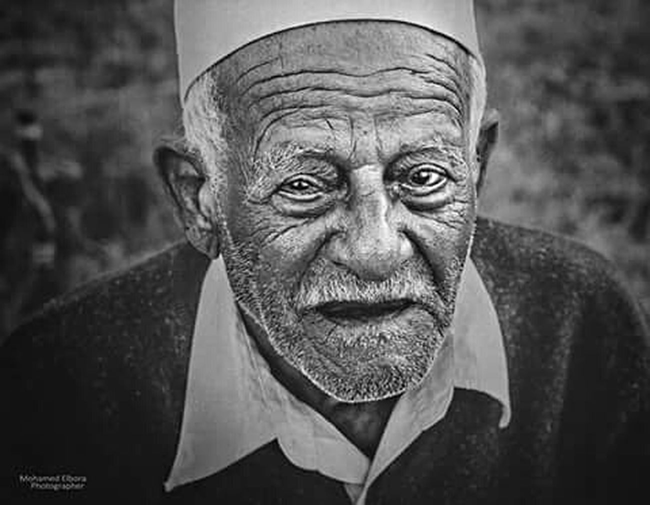 Oldman Tripoli Libya B&W Portrait World Sick Eyes First Eyeem Photo