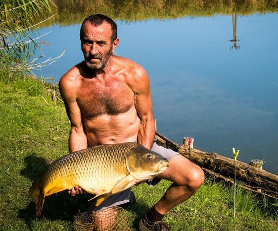 Carp Catch And Release Chance Encounters Császár Fishing Hungary Man