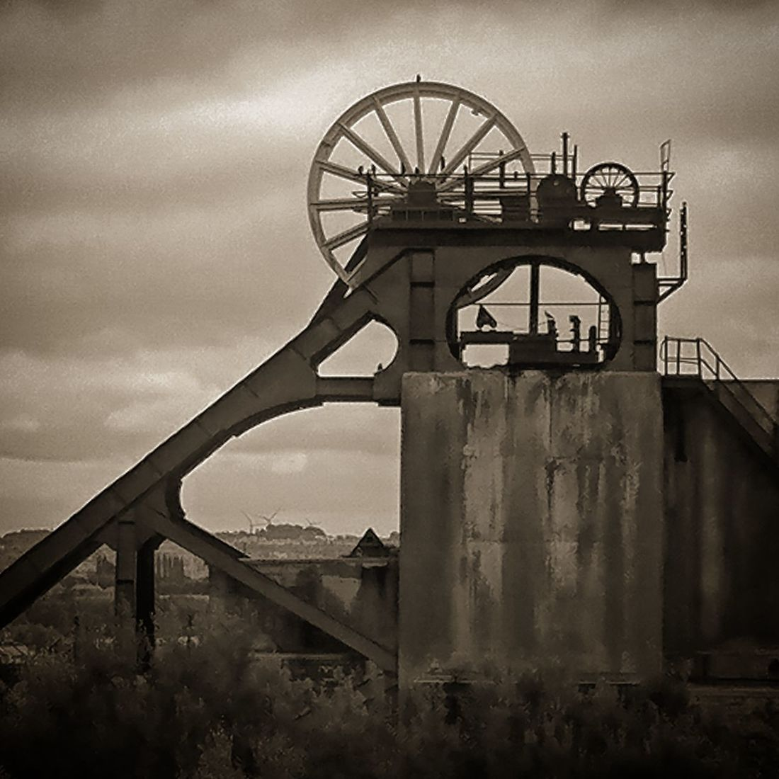 Bridge - Man Made Structure Business Finance And Industry Industry Outdoors No People Built Structure Golf Club Sky Factory Architecture Day City Metal Industry Mining Pit Winding Tower