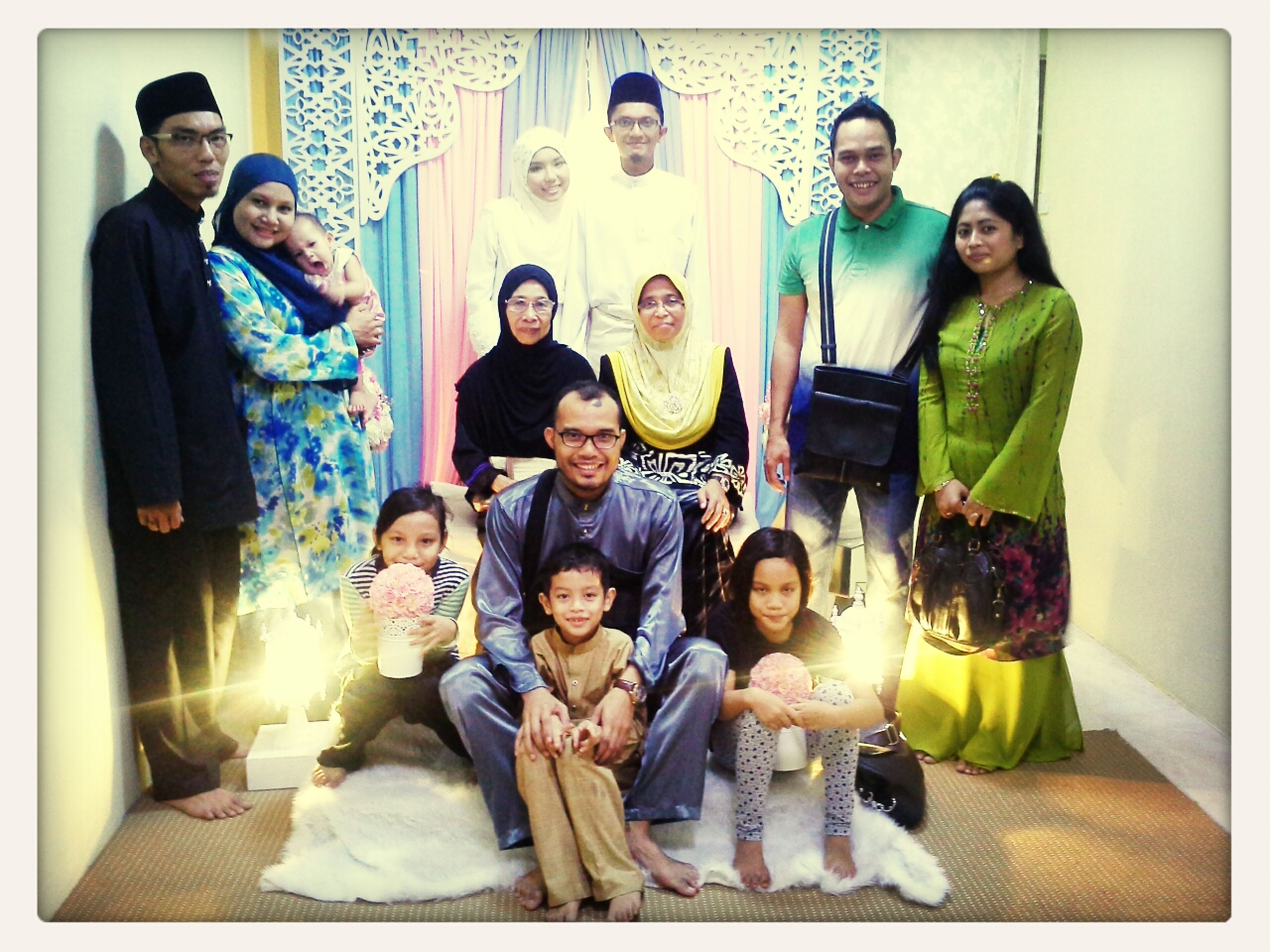 Untie Rehan n Lan n the familia