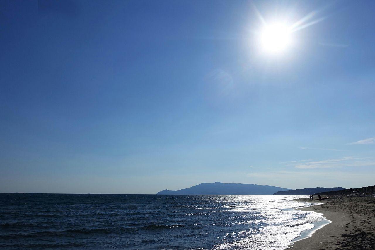 Beach of Marina di Capalbio