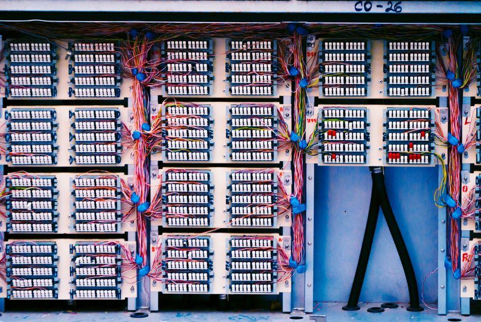 Redes Paranoicas. Telephone Circuits Colors Patrons Mexico City Urban Photography Improvisation Telmex