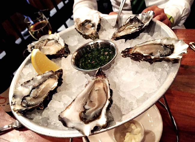 Super Fresh Oyster Time Seafood Dinner Hungry Ferrybuilding San Francisco My World Of Food