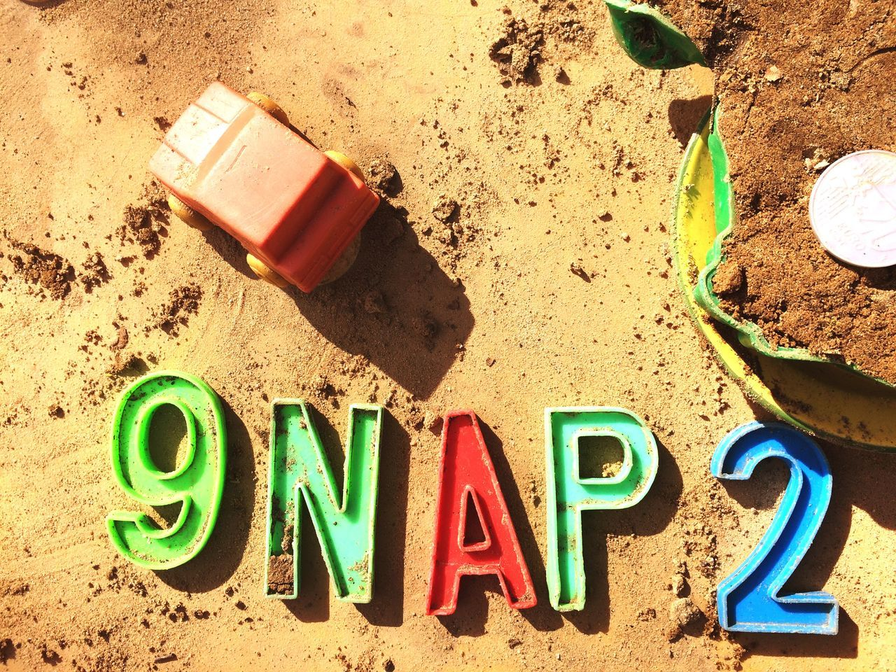 9NAP2 Creative Power Sandbox Pastel Power