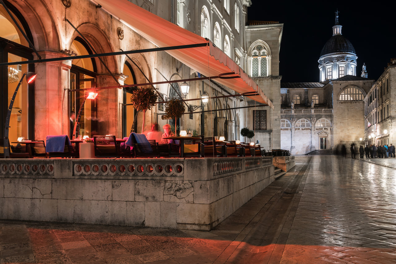 Dubrovnik by night Architecture Building Exterior Built Structure City Croatia Dubrovnik Europe Historic History Illuminated Long Exposure Night Night Lights Night Photography Nightlife Nightphotography Old Old Buildings Old Town Old-fashioned Outdoors Terrace Travel Destinations Urban Wide Angle