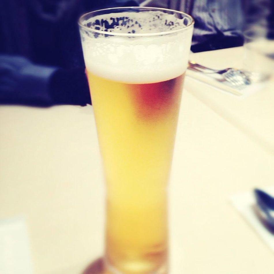 ランチビールなう( *`ω´)