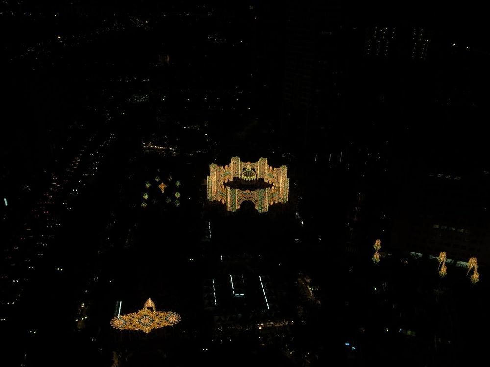 Cityscape Illuminated Luminarie2010 Mystery Night Luminarie 神戸ルミナリエ Kobeluminarie 2010 神戸市役所展望ロビー