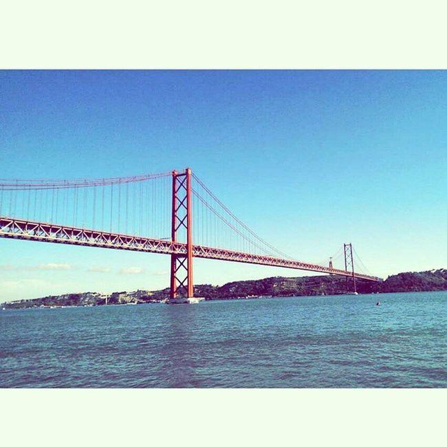 Un peu de San Francisco à Lisbonne ? Holidays Lisbon Lisboa Withthebff SunnyDay Tage Portugal pont likeinSanFrancisco