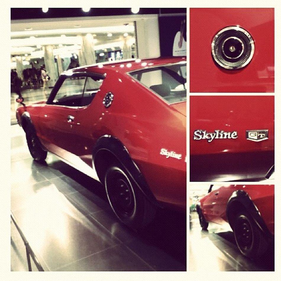 Skyline Classic Car Musclecar Classiccar Power Cherryred Red Japan Instahub Instadaily Instafamous Instagramhub Instamood Instagood