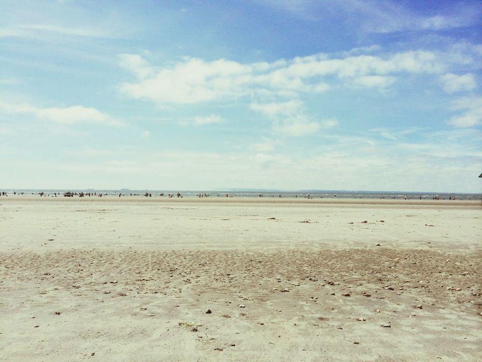 Beach Beautiful Sunny England