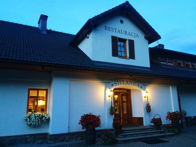 Restaurant Sielanka Ustron Poland Eating Eating Out Local Cuisine Architecture Architecture Photography Summer Summer Evening Evening