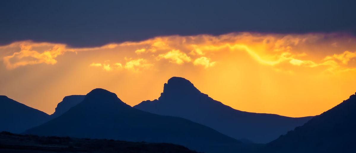 Mountain Range Mountain Africa Lesotho Beautiful Sunlight Clouds Sunset Sky Storm Storm Cloud