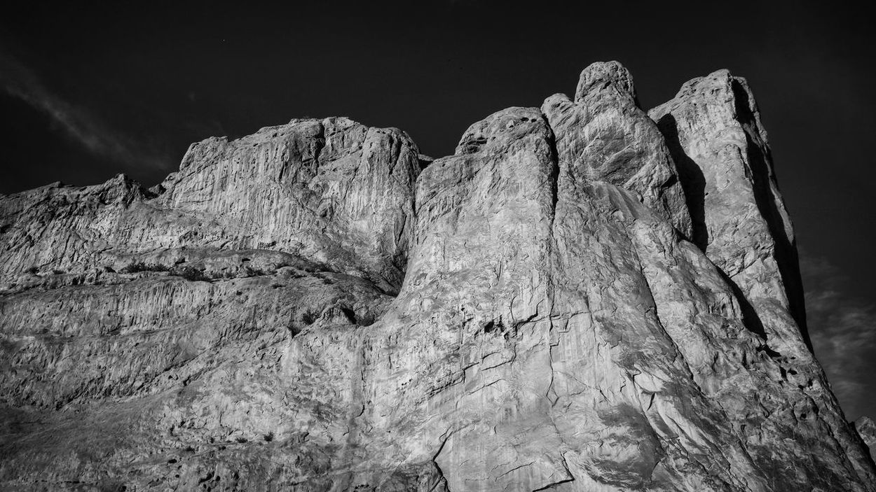 Garden of the Gods. Landscapes With WhiteWall Photography Countryside Photographer Tadaa Community Nature Photography Naturelovers Moretocome Colorado Beautiful Nature_collection Nature Beautiful Nature Gardenofthegods Mountains Blackandwhite Great Outdoors With Adobe