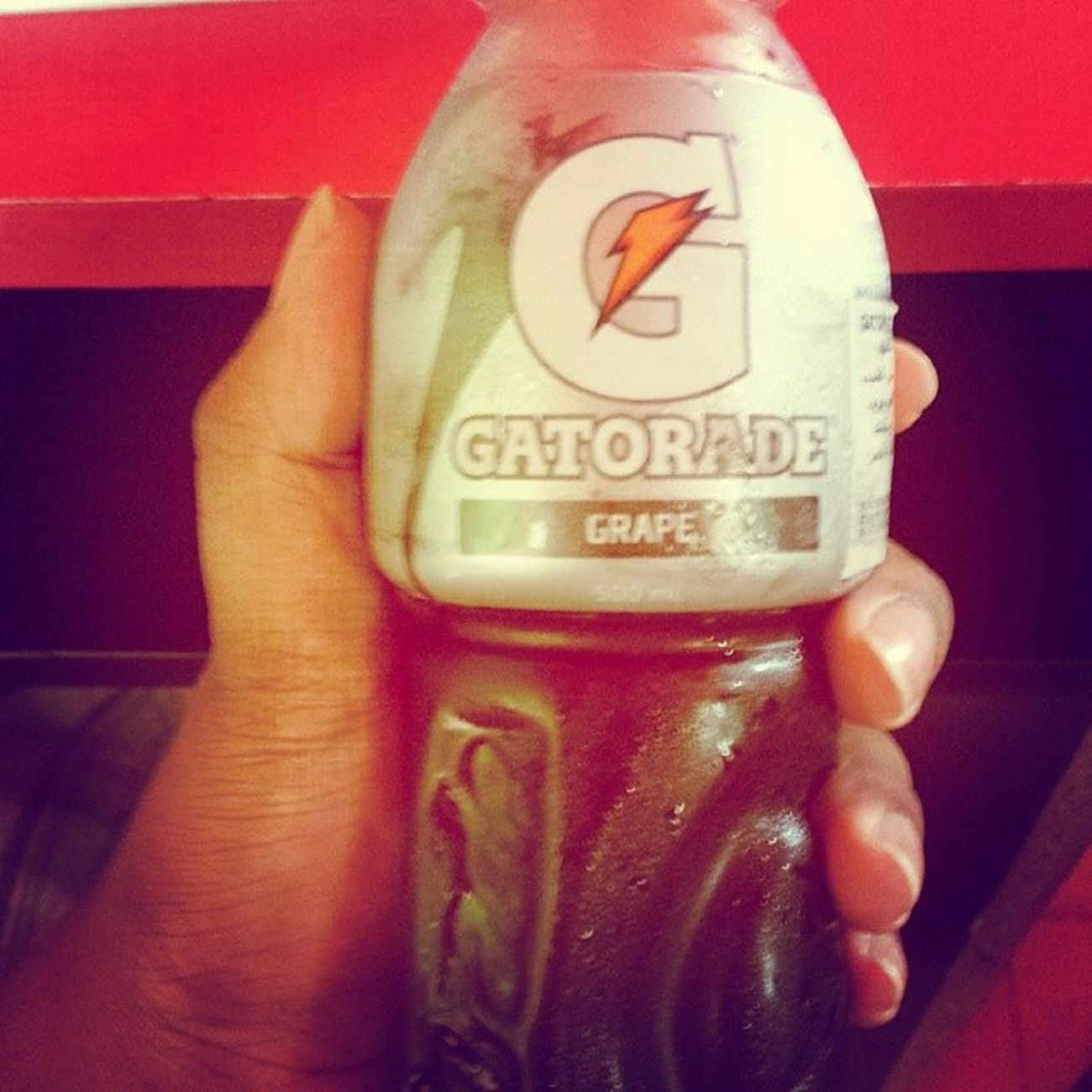 Heatkiller Gatorade Grape Exhausted hot saviour instapic instadaily stoptthisheatGod
