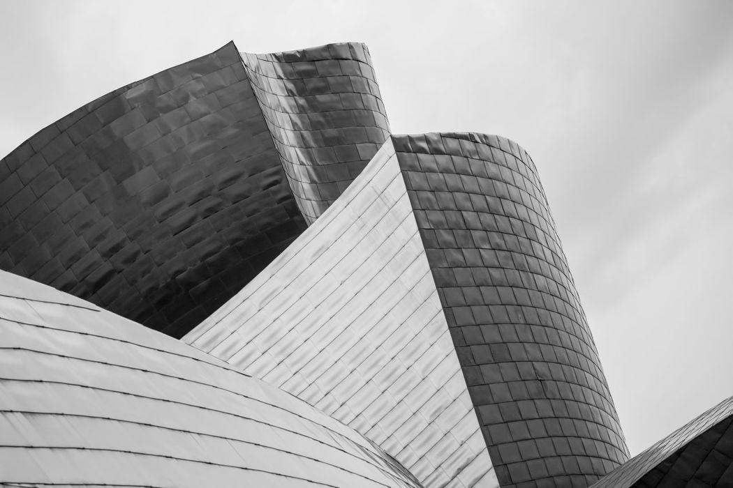 Architecture Basque Country Bilbao Bilbaoarchitecture Bizkaia Bnw Building Exterior Built Structure City Day Euskadi Guggenheim Guggenheim Bilbao Guggenheimmuseum Low Angle View Modern No People Outdoors Sky Skyscraper The Architect - 2017 EyeEm Awards