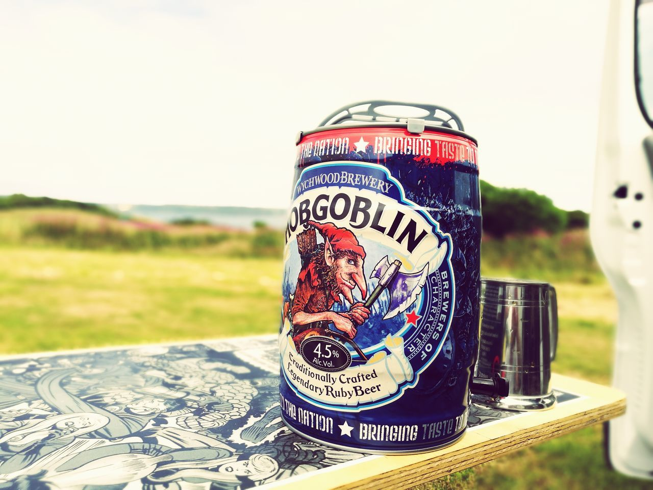 Hobgoblin Ale Camping Check This Out
