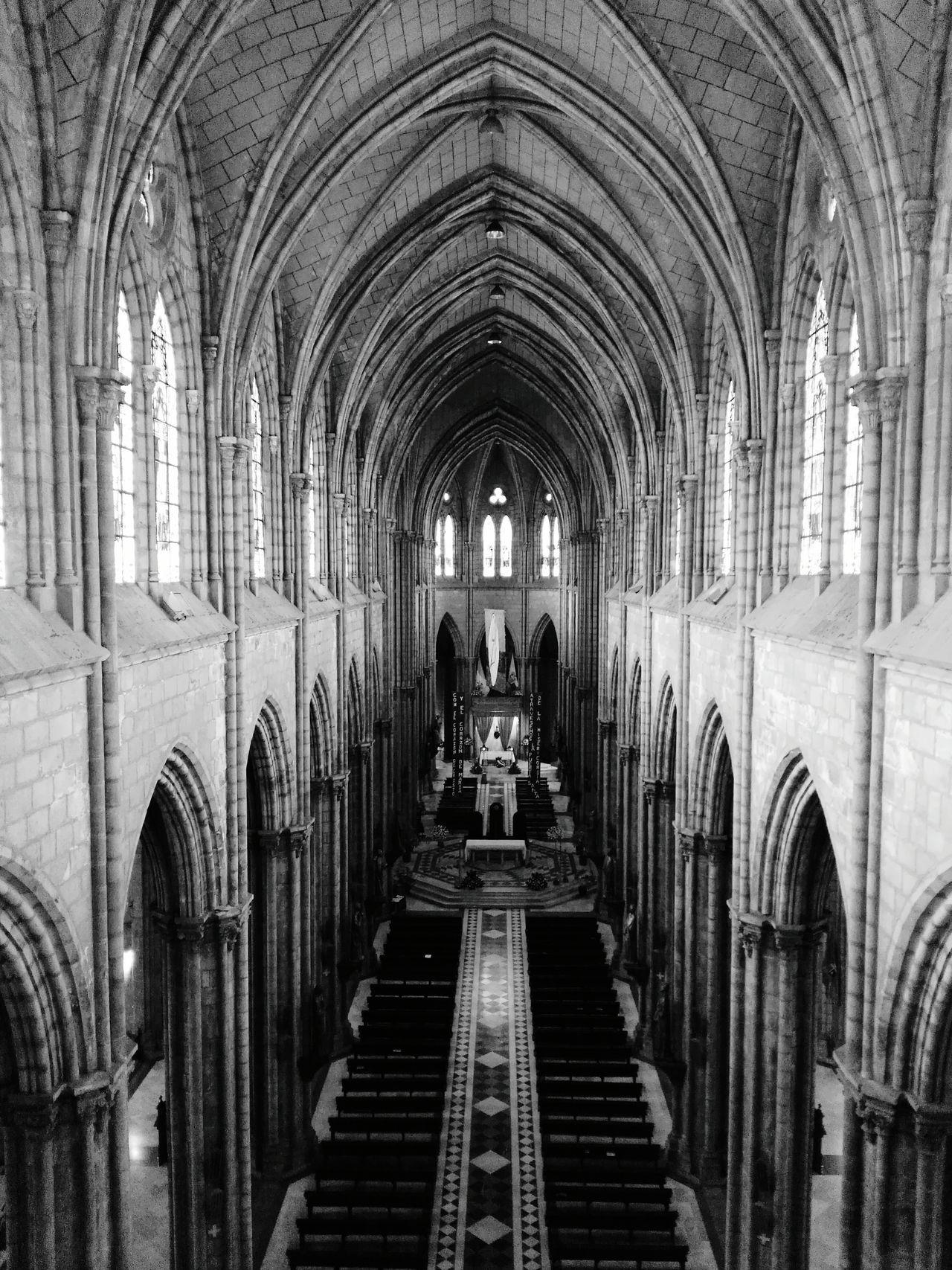 Architecture Arch Indoors  Built Structure Quito Basilica Quito Ecuador Travel Destinations Cathedral