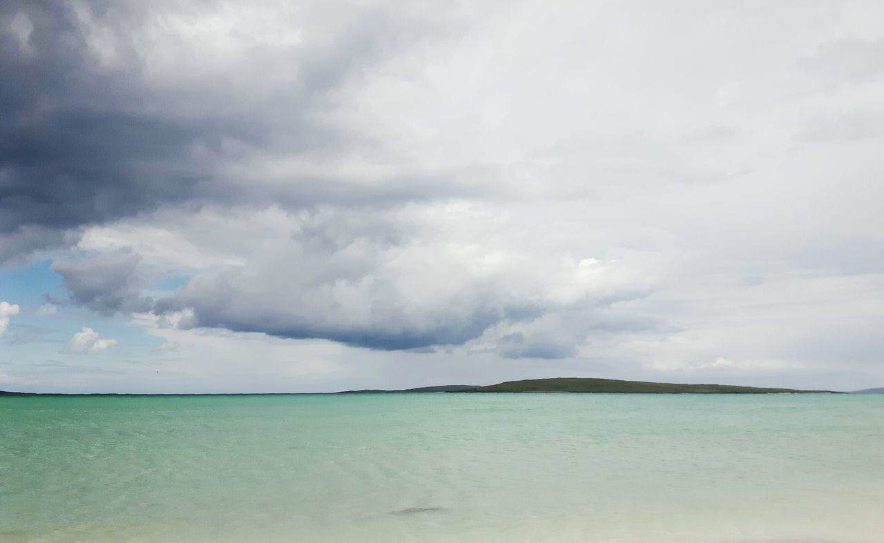 Cloud - Sky Dramatic Sky Sky Horizon Over Water Tranquil Scene Tranquility Beauty In Nature Uist Traigh Lingeigh Clachansands Clachan Scottishbeach Westernisles Outerhebrides Scotlandsbeauty Scotlandlover Scotland EyeEmNewHere The Great Outdoors - 2017 EyeEm Awards Hebridies Live For The Story Travel Destinations Scottish Isles Sea Out Of The Box