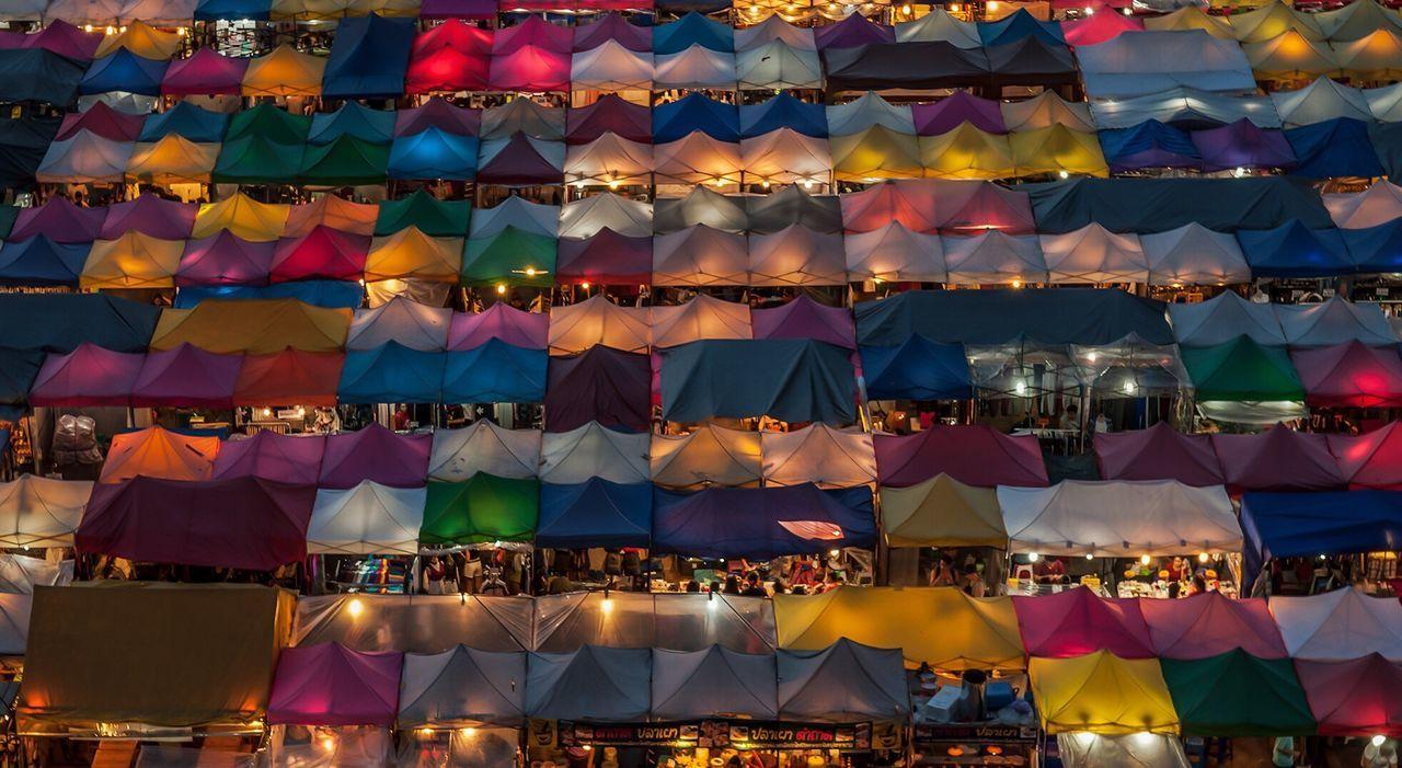 Market Bangkok Nightphotography Thailand ASIA Asean Colors City Night Bangkok Thailand.