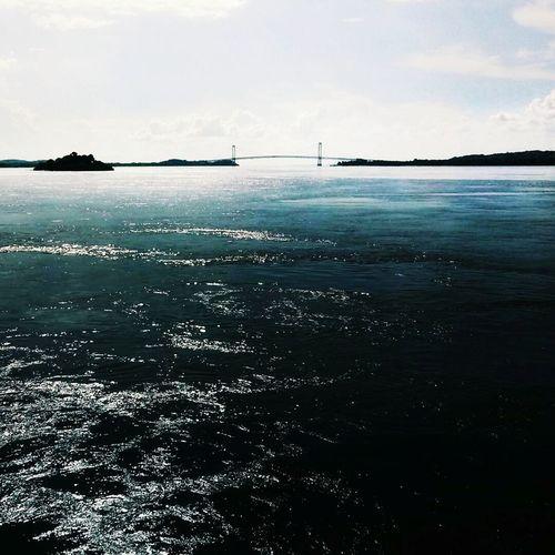 Sea Silhouette Nature Water Tranquility Day Travel Destinations Ciudad Bolívar Puente Angostura Río Orinoco Orinoco