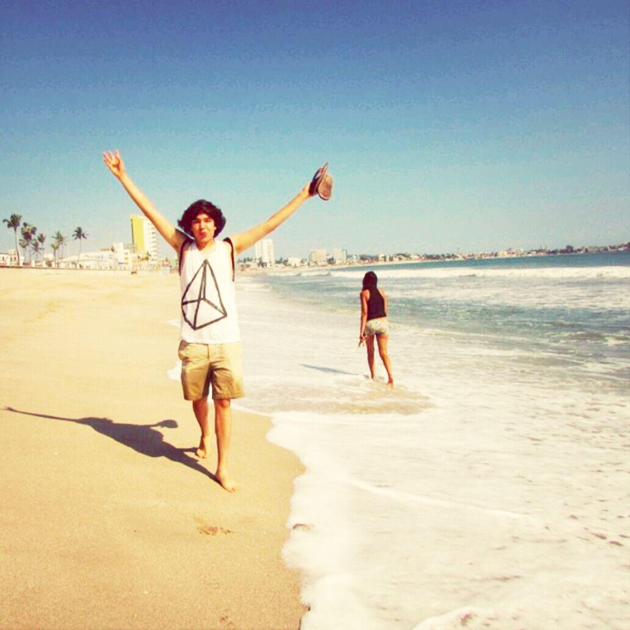 Beach Mazatlan Sinaloa Summer 2013