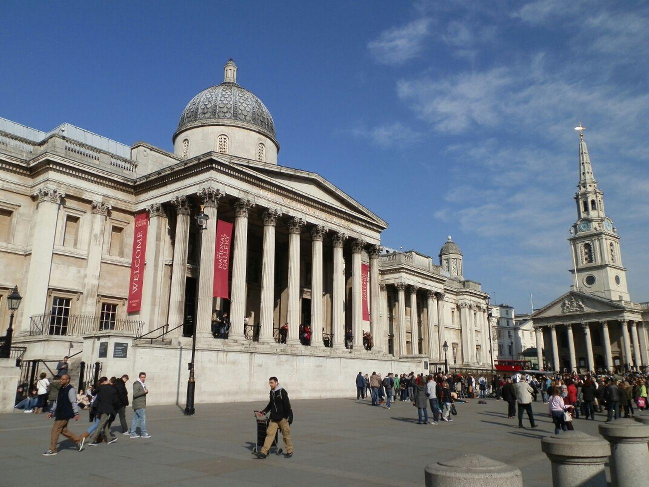 Trafalgar Square (Londres) Taking Photos Enjoying Life Streetphotography TheMinimals (less Edit Juxt Photography)