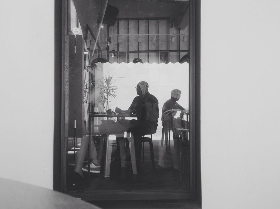 Blackandwhite Silhouette Selfportrait Monochrome