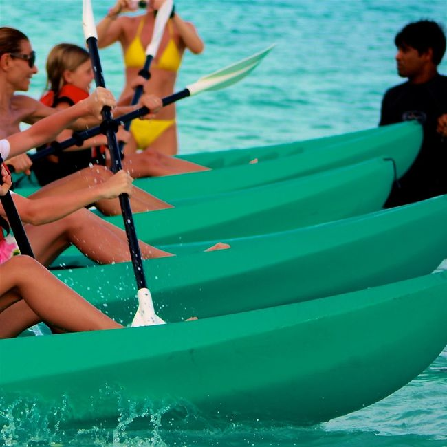 Activity Beach Canoeing Capturing Motion Colorful Enjoying Life EyeEm Best Shots Fun Hello World Leisure Activity Maldives Oar Ocean On The Beach Photgraphy In Motion Race Rudder Speed Sports Summer Taking Photos Togetherness Water Bikini