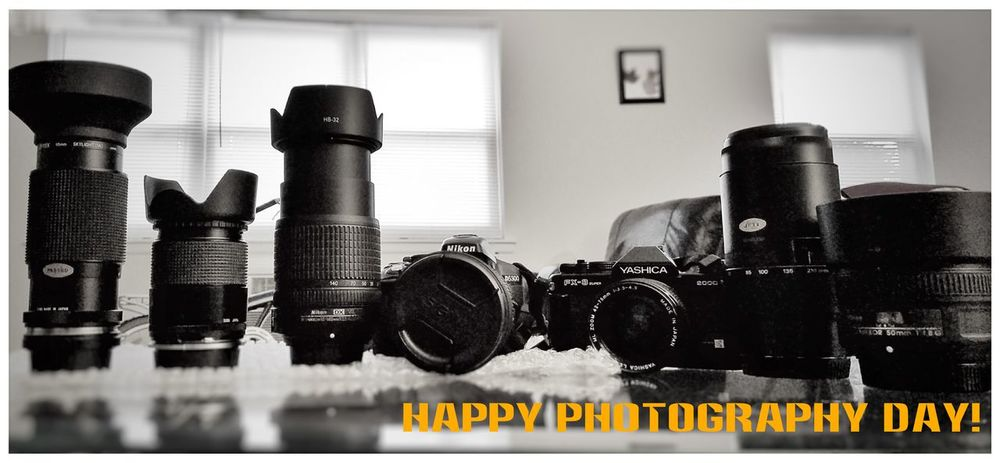 Photography Happy Photography Day