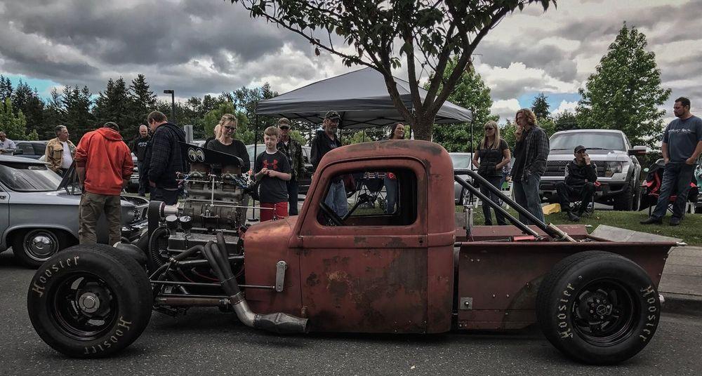 RatRod Car Truck Car Show Mode Of Transport Old School Classic Car