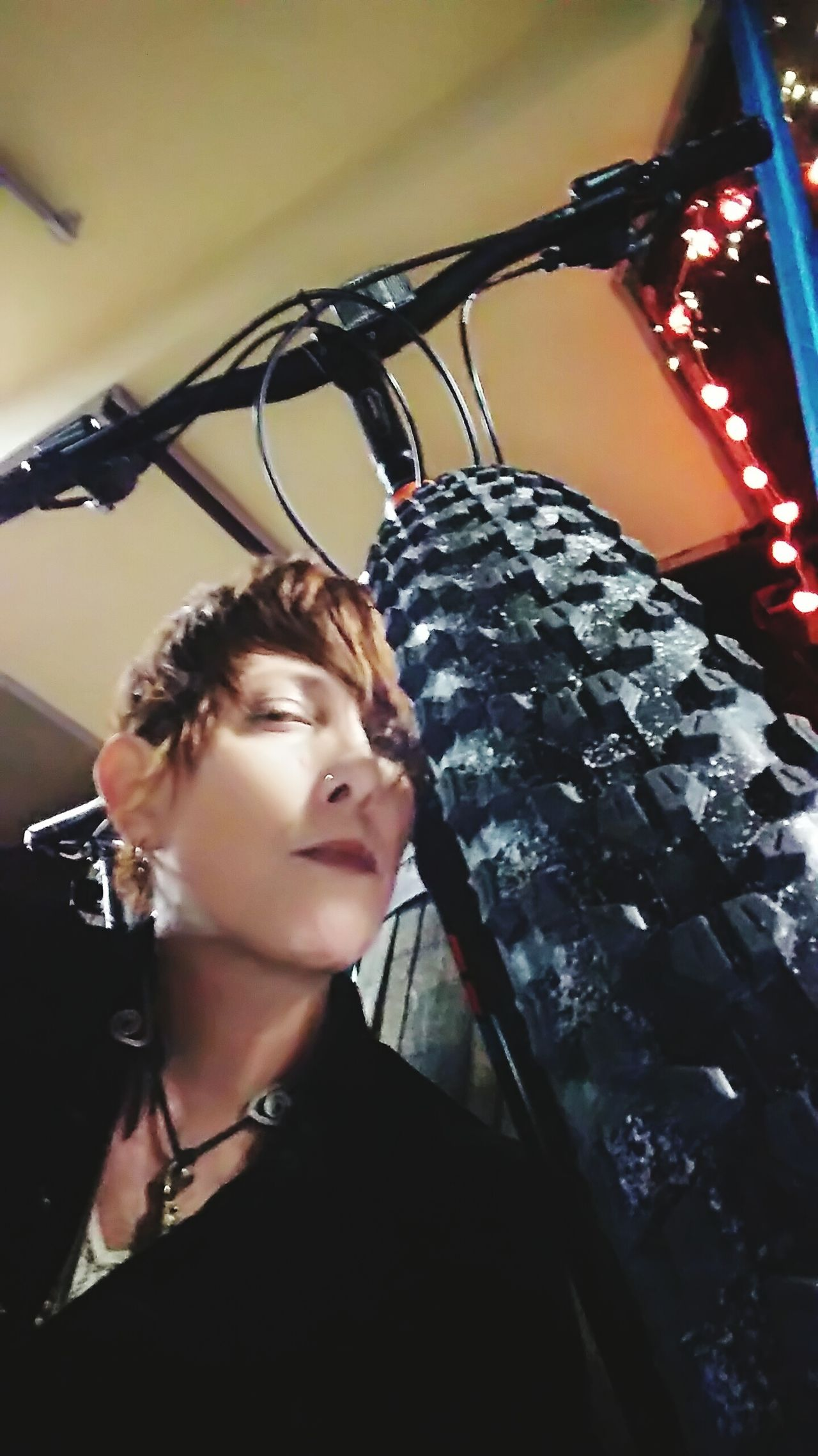 Bike tire One Person People Relaxation Chase Just Being Me Finding New Frontiers Vougemagazine My Year My View Photography Themes Something Different Artistic Expression My Artwork Expressionism Miami Beach Artphotography Fashion Photography Leisure Activity My Face My Self Looking At Camera Close-up One Animal Portrait Headshot Nightlife Backgrounds The City Light