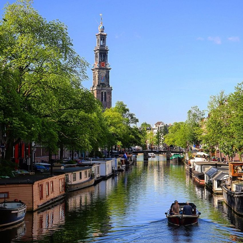 Westertoren Westertoren Keizersgracht Amsterdam Canal Instagood Photographer Photooftheday Your Amsterdam