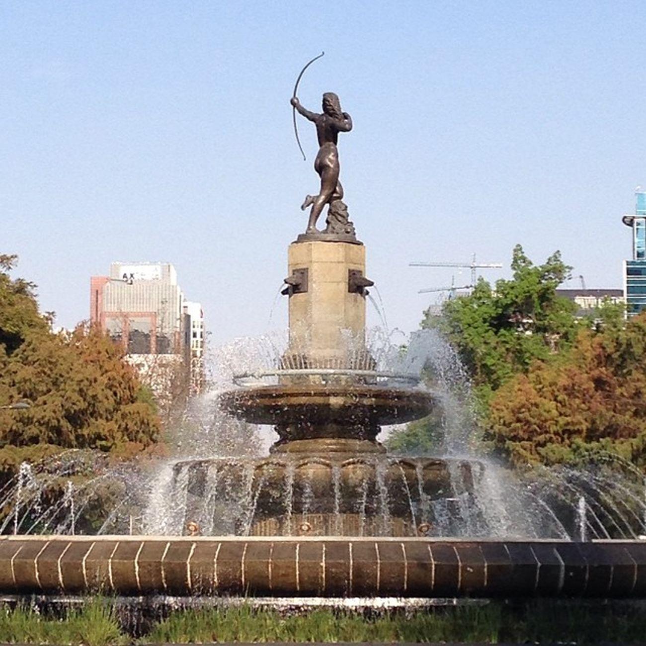 Linda tarde en la Ciudad de México Mexico