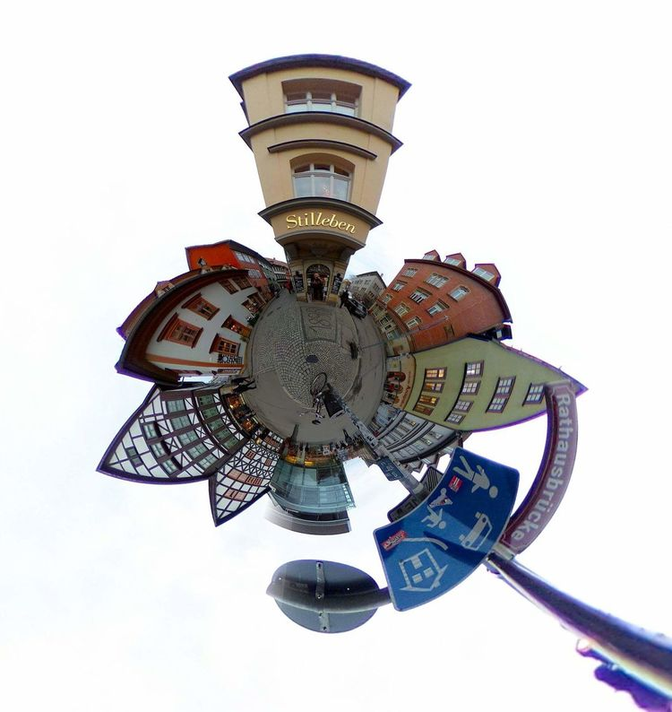 Panorama RICOH THETA Panoramic Panoramic Photography MiniPlants Miniplanet Thuringen City Miniplanete Outdoors