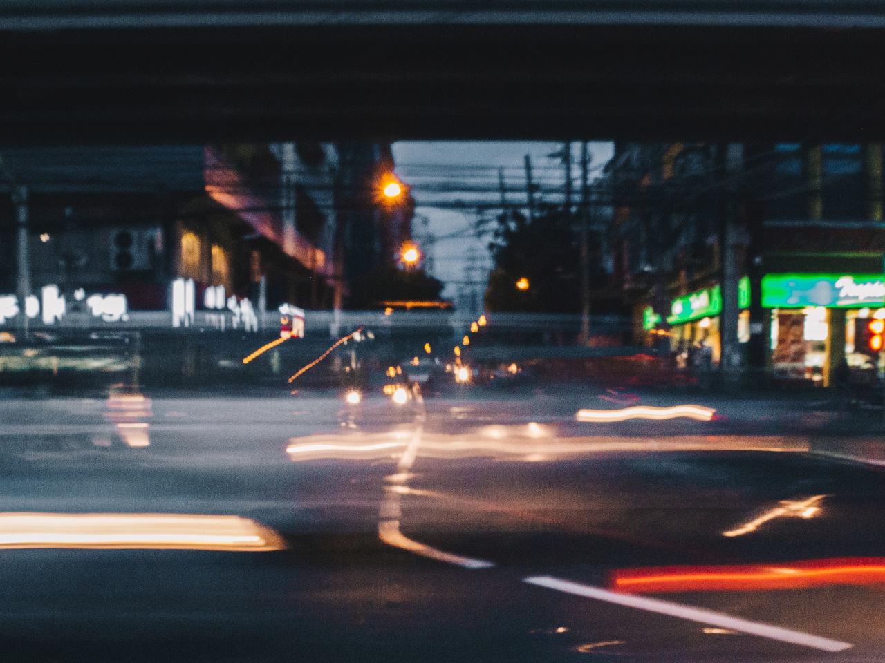 Rush hour delay Street Illuminated Night Car Transportation City Life Chasinglight Long Exposure Live For The Story The Street Photographer - 2017 EyeEm Awards Taftavenue Olympus OLYMPUS PEN E-P3