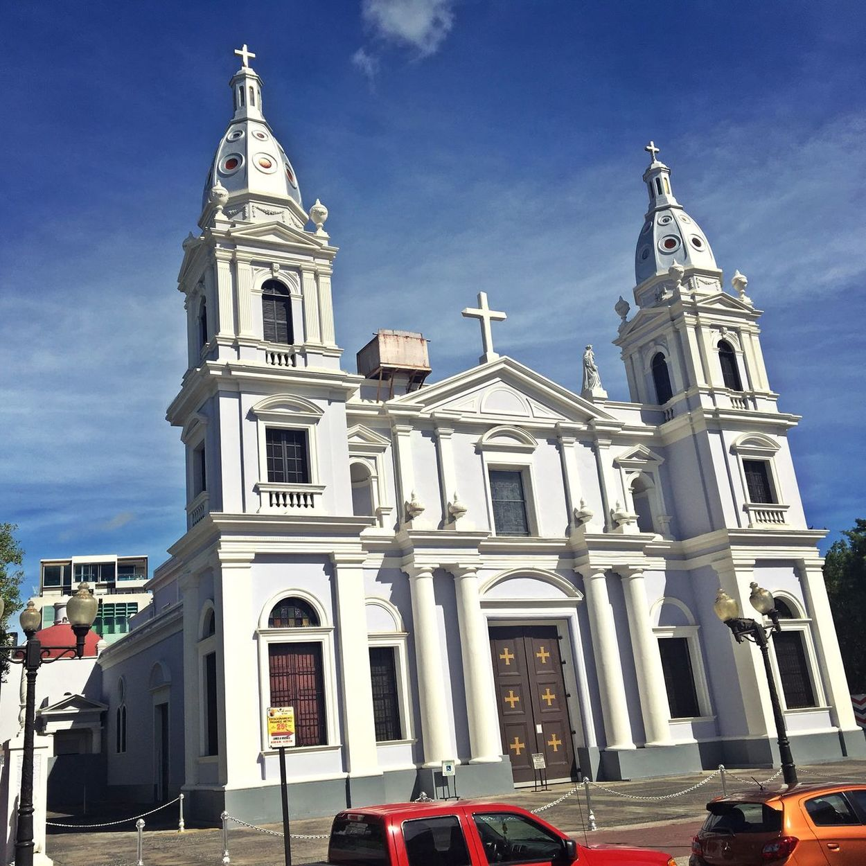 Puerto Rico Architecture Building Exterior Built Structure Sky Religion Outdoors Cloud - Sky History Low Angle View Day Place Of Worship No People City
