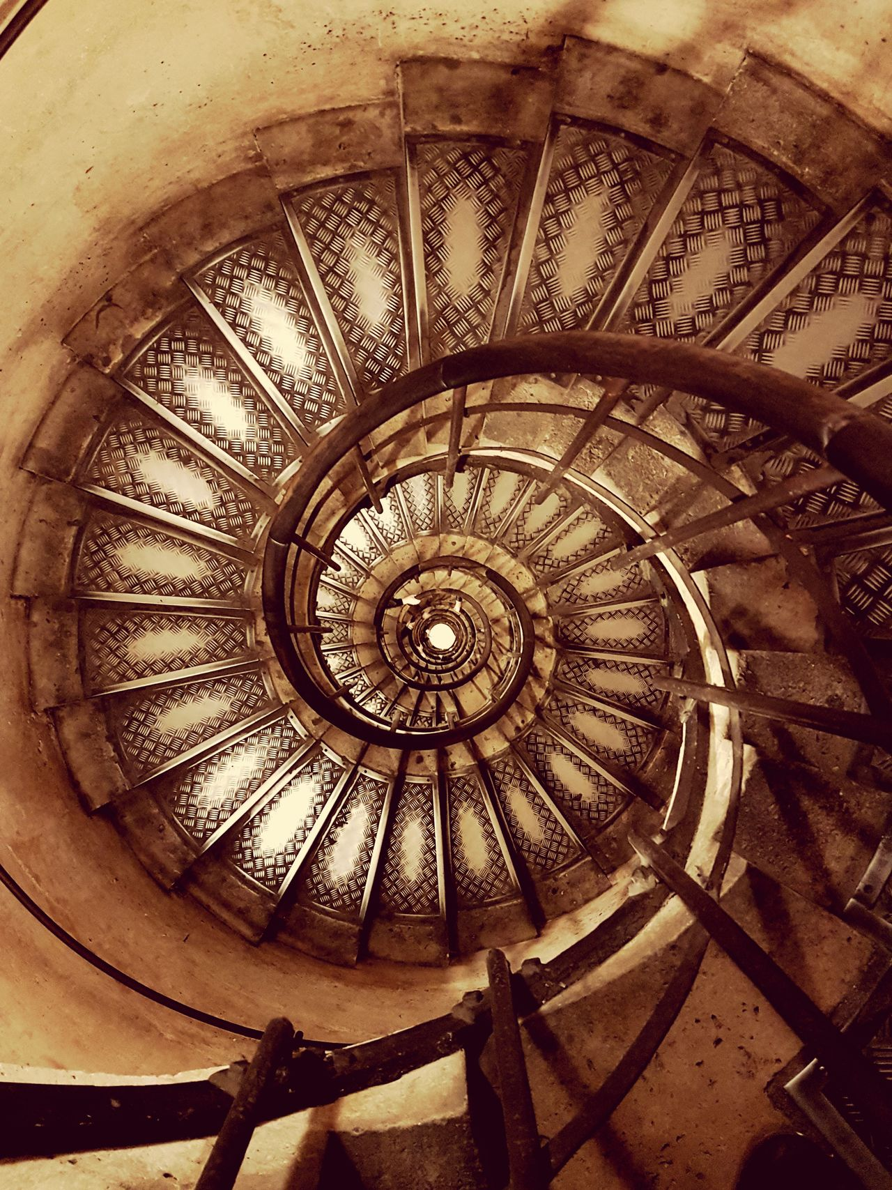 Low Angle View Architecture Indoors  Spiral Staircase Steps And Staircases EyeEm New Here EyeEmNewHere