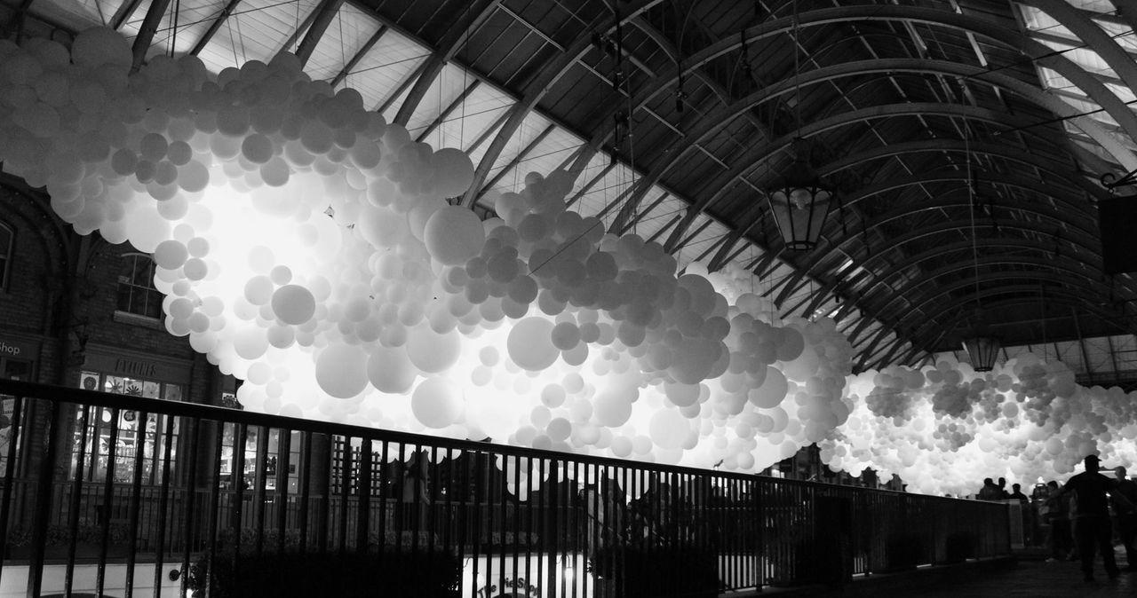 100,000 balloons in Covent Garden. ArtWork Art Urbanphotography Streetphotography Urban Lifestyle