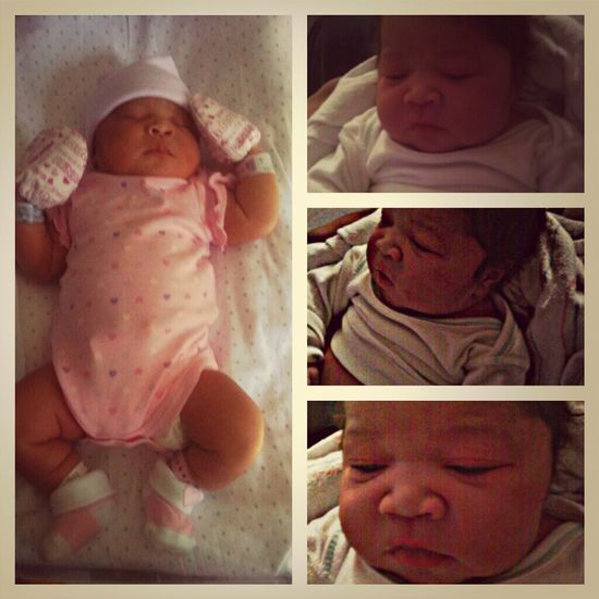 Welcome to the world my beautiful niece Harmony Navaeh Knight. Uncle loves you :)
