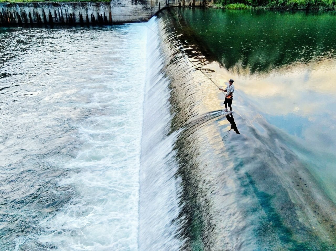 Live For The Story Water Fishing Motion Day One Person Full Length Men Outdoors Real People Adventure Sport Nature People Adult Extreme Sports One Man Only Adults Only Only Men Eye4photography  EyeEmNewHere , Barabai South Kalimantan INDONESIA