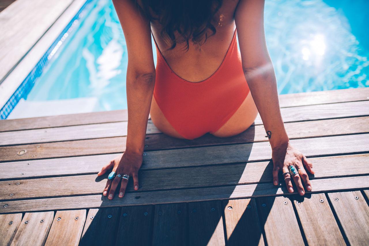 Bikini Pool Day  Sexygirl Summer Sunbathing Swim Swimming Swimming Pool Swimwear Water Woman