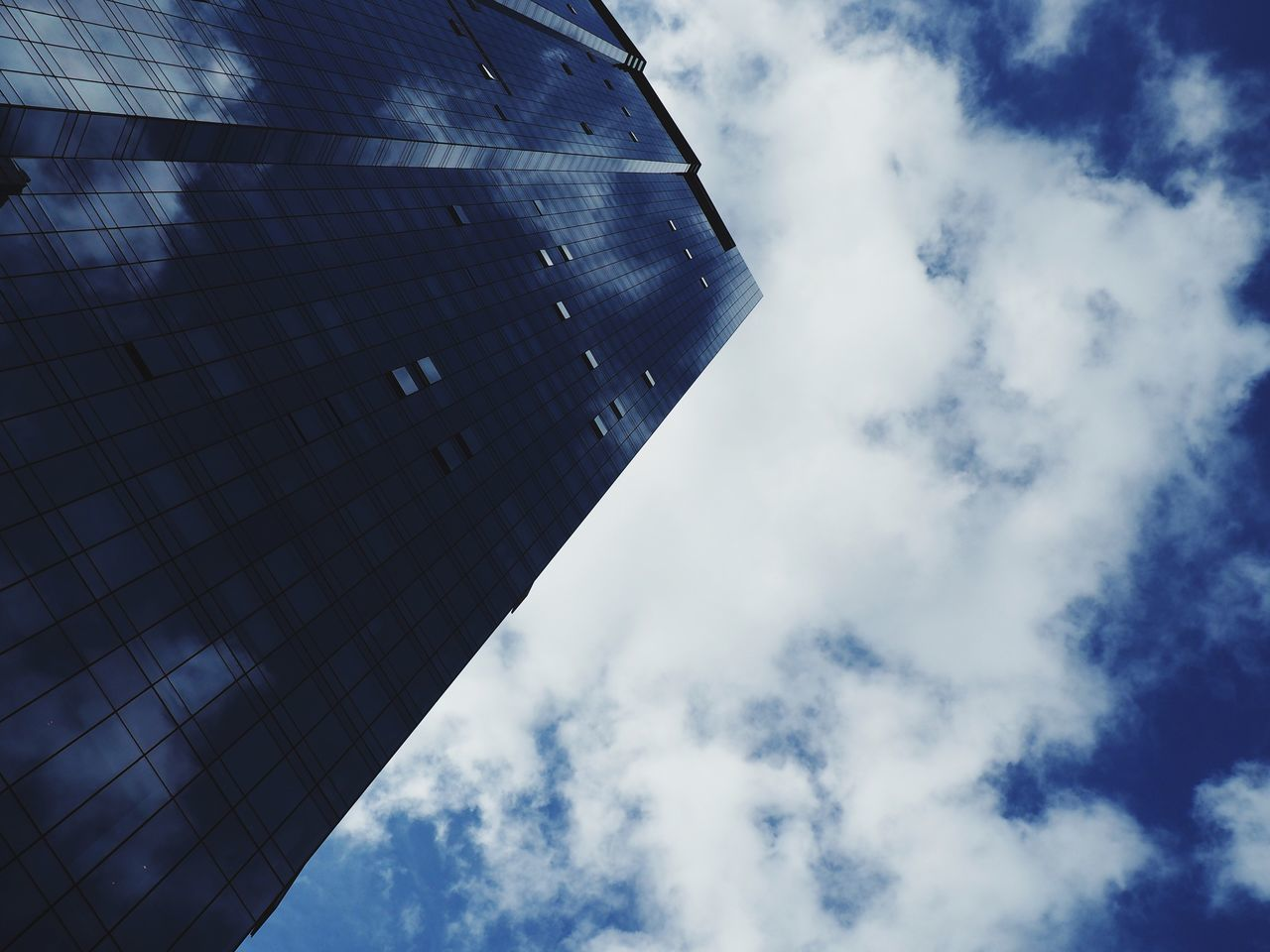Sky Low Angle View Cloud - Sky Architecture Building Exterior Built Structure Cloud Day Outdoors No People Nature