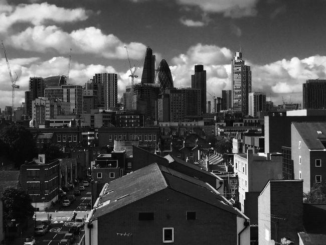 London East London Skyline LONDON❤ Gherkin Tower