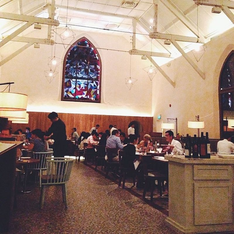 The only church i stepped into this year,it counts right. ?Sg Food