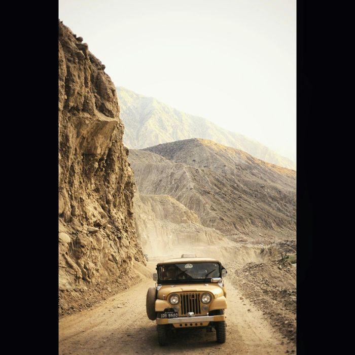 Jeep Ride 4wd Mountains Roadtrip Pakistan Tourists Tourism Faryabshah Beautiful Nature