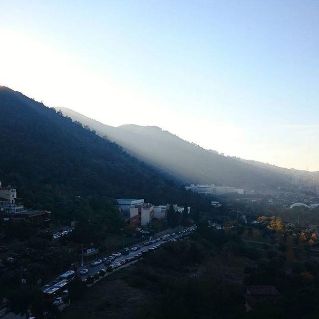Izmir Economic's from balcony View