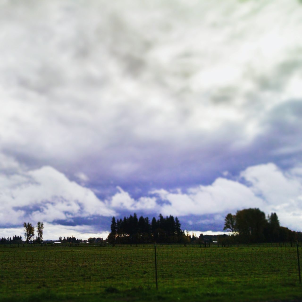 Purple ♥ Clouds And Sky Oregon
