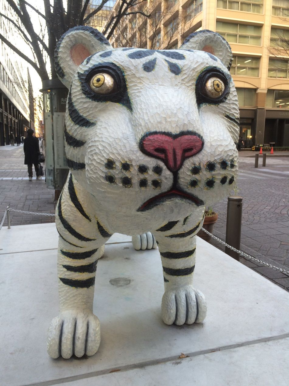 Tiger Art ArtWork Street Art White Tiger