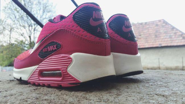 Nike shoes in girly style Low Angle View Sky Headwear Motorsport Day No People Like4like Followme Nike✔ Nikerunning Nike Shoes Nike Airmax