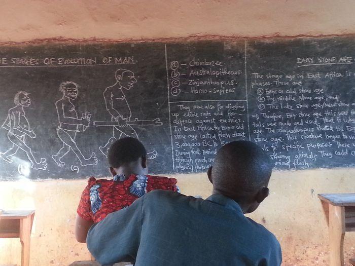 Education Is The Key Handwriting